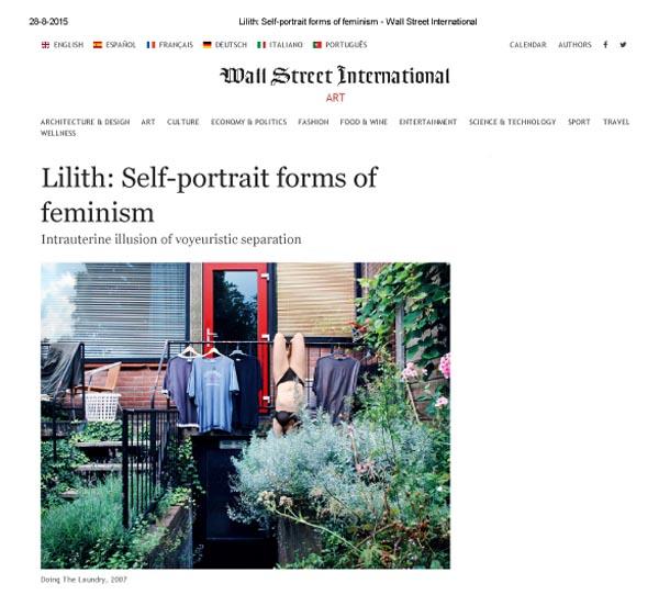 Lilith_ Self-portrait forms of feminism - Wall Street International-1