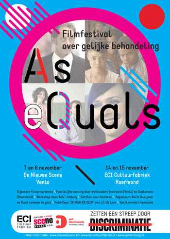 As Equals, Poster A3.indd