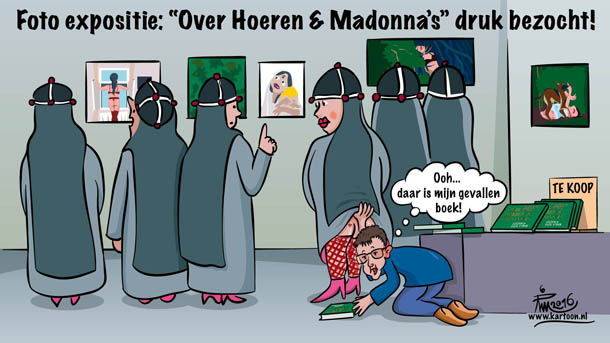 Over hoeren&madonna's cartoon